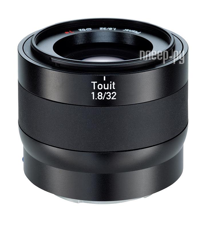 Объектив Carl Zeiss 32 mm F/1.8 Touit Planar T* for NEX  Pleer.ru  31677.000