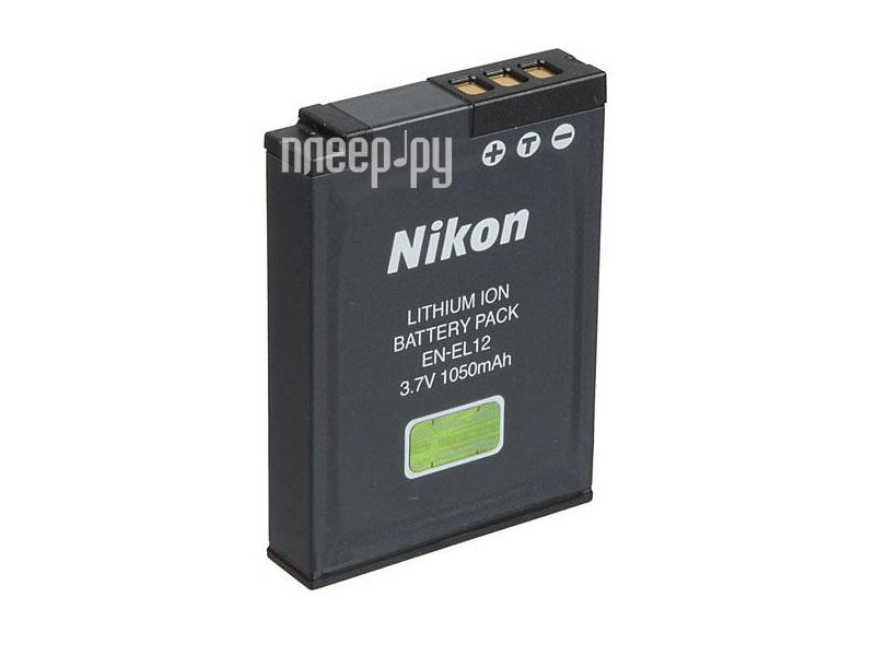 Аккумулятор Nikon EN-EL12а  Pleer.ru  730.000