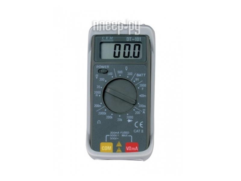 Мультиметр CEM DT-101  Pleer.ru  349.000