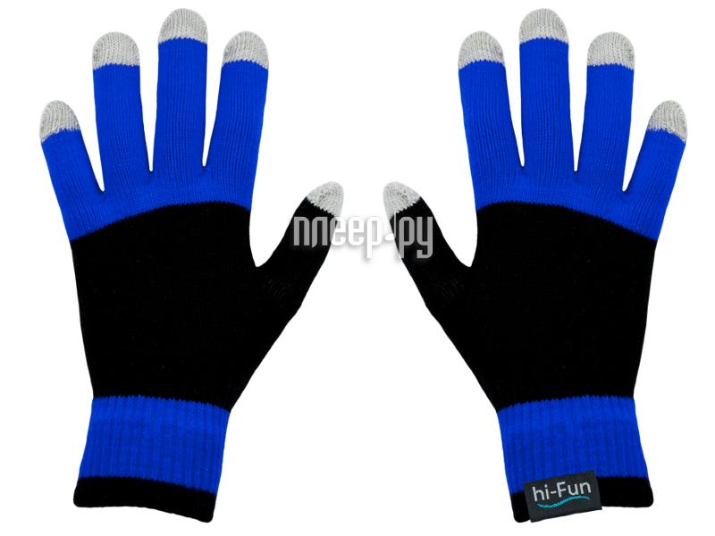 Теплые перчатки Hi-Fun Hi-Glove Man Blue  Pleer.ru  838.000