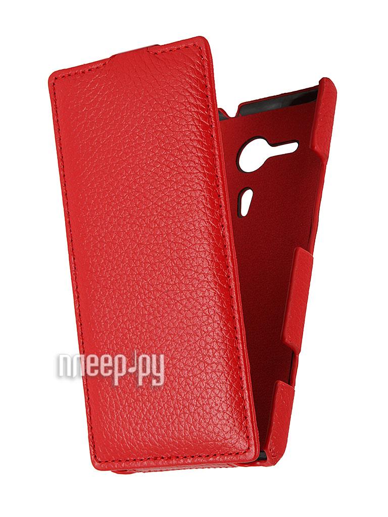 Аксессуар Чехол Sony C5303 Xperia SP Clever Case Shell тисненая  Pleer.ru  1098.000