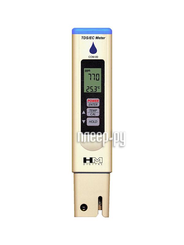 HM Digital COM80 3 в 1 - кондуктометр, солемер, термометр