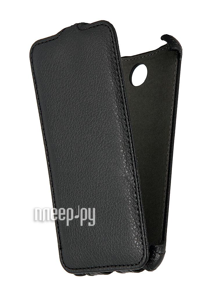 Аксессуар Чехол HTC Desire 300 Ainy / iBox Premium Black  Pleer.ru  223.000
