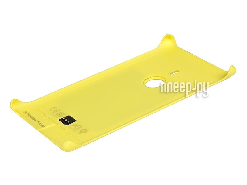 Аксессуар Чехол Nokia Lumia 925 CC-3065 с функцией беспроводной зарядки Yellow  Pleer.ru  1574.000