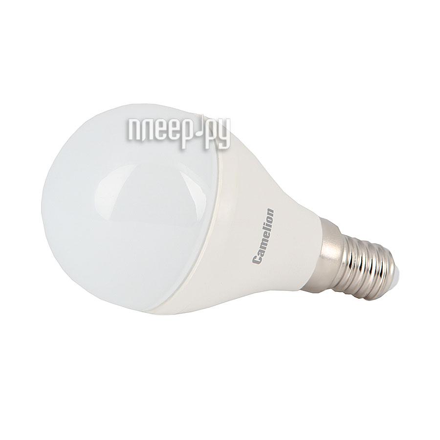Лампочка Camelion G45 6.5W 220V E14 3000K 560 Lm LED6.5-G45 / 830 / E14