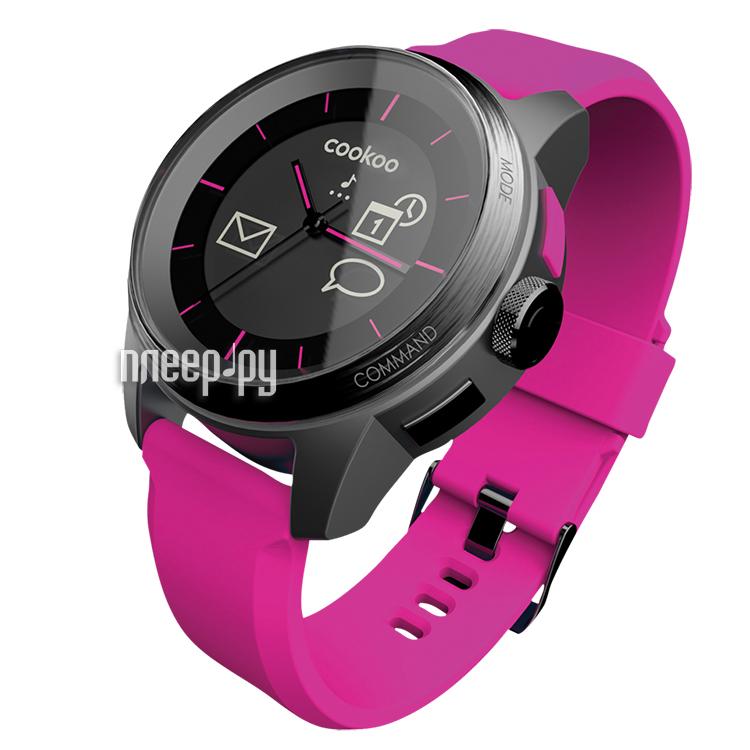 Умные часы Cookoo Watch Black-Pink  Pleer.ru  3130.000