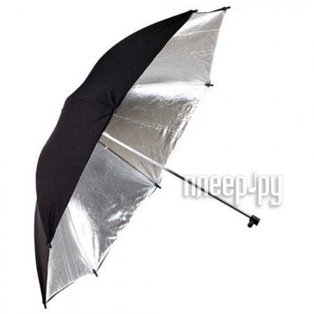 Зонт Phottix Reflective Studio Umbrella 152cm Silver/Black 85335  Pleer.ru  1098.000