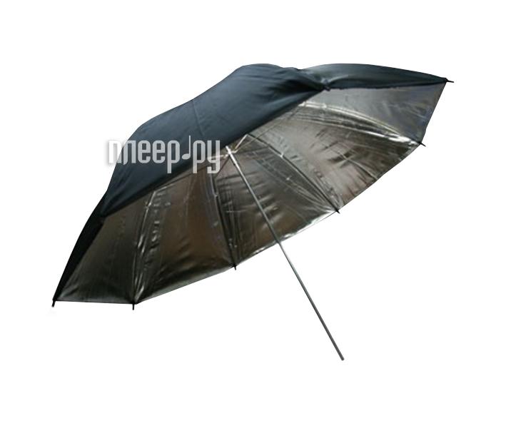 Зонт Phottix Reflector Umbrella 101cm Silver/Black 85400  Pleer.ru  689.000