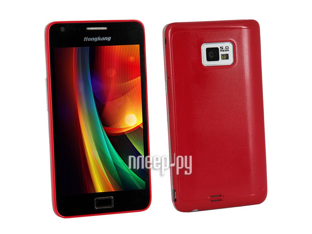 Сотовый телефон HongKang HK 6186 DUOS Red  Pleer.ru  7998.000