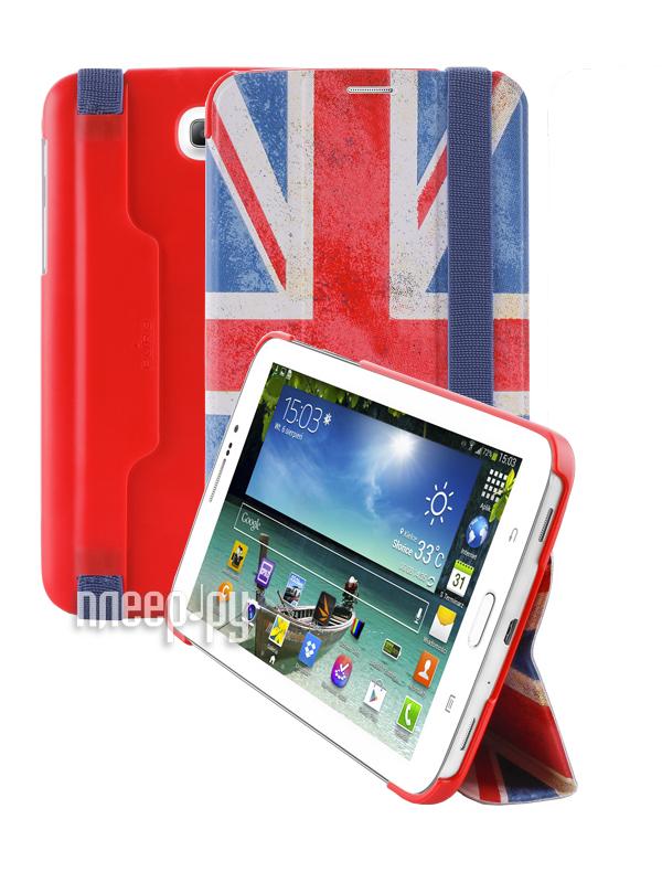 Аксессуар Чехол Samsung Galaxy Tab 3-7.0 PURO Zeta Slim UK Flag GTAB37ZETASUK  Pleer.ru  950.000