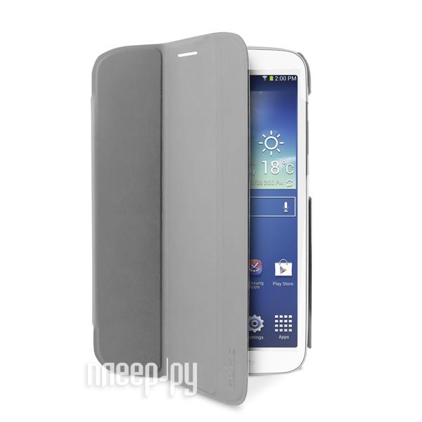 Аксессуар Чехол Samsung Galaxy Tab 3 8.0 SM-T310 PURO Zeta Slim Grey GTAB38ZETAS Grey  Pleer.ru  1200.000