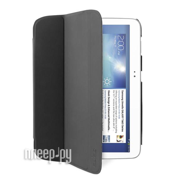 Аксессуар Чехол Samsung Galaxy Tab 3 10.1 PURO Zeta Slim Black GTAB310ZETASBLK  Pleer.ru  575.000