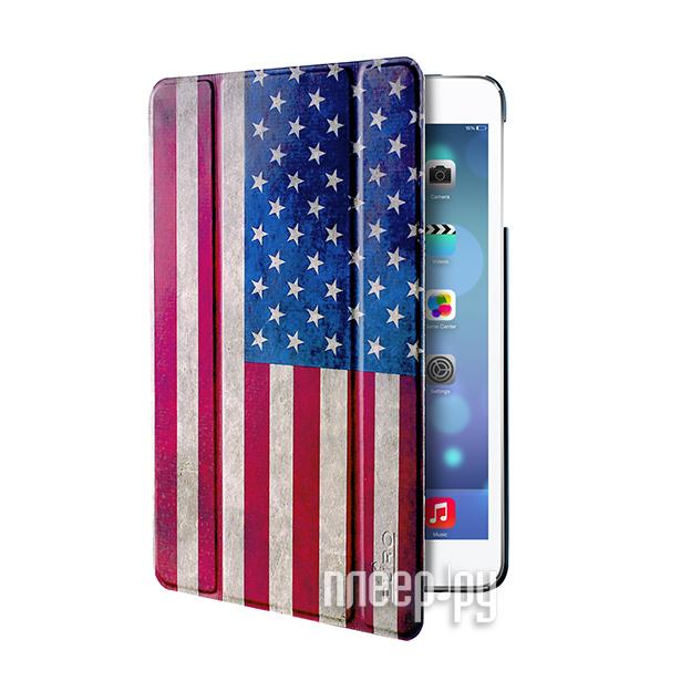 Аксессуар Чехол APPLE iPad Air PURO Zeta Slim USA Flag IPAD5ZETASUSA  Pleer.ru  1069.000
