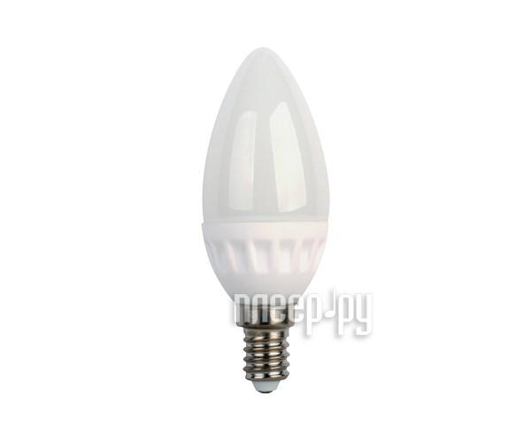 Лампочка Ecola Candle LED E14 3.5W 220V 2700K керамика C4LW35ELC  Pleer.ru  104.000