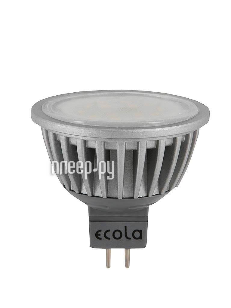 Лампочка Ecola MR16 LED GU5.3 7W 220V 4200K прозрачное стекло M2TV70ELC