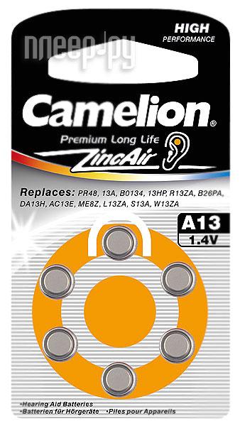 Аксессуар Camelion ZA13 BL-6 / A13-BP6 1.4V 280mAh  Pleer.ru  113.000