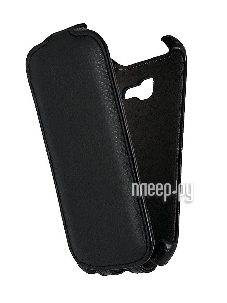 Аксессуар Чехол Samsung S7390 Trend / S7392 Trend Duos iBox Premium Black  Pleer.ru  1108.000