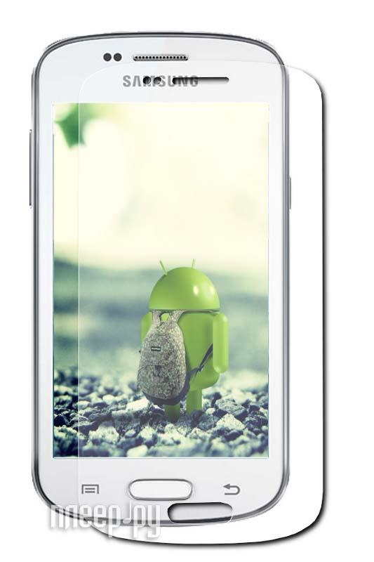 Аксессуар Защитная пленка Samsung GT-S7572/S7570 Galaxy Trend II LuxCase суперпрозрачная 80815  Pleer.ru  94.000