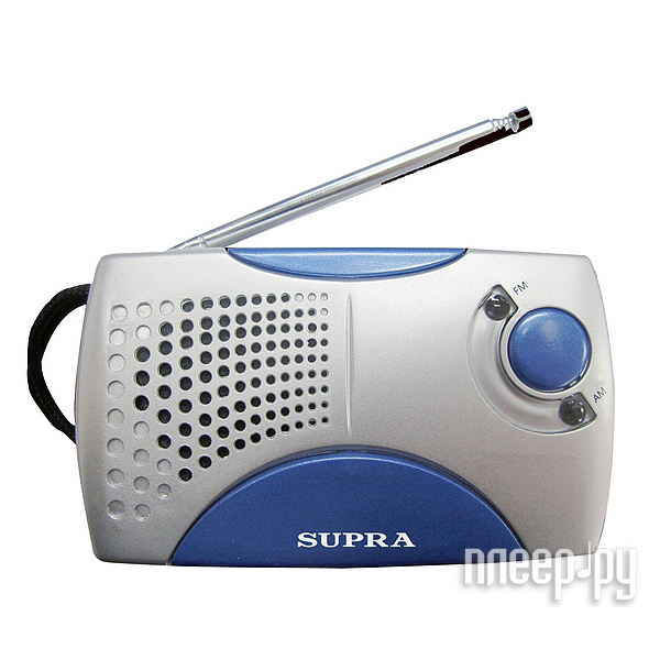 Радиоприемник SUPRA ST-113 Silver/Blue  Pleer.ru  221.000