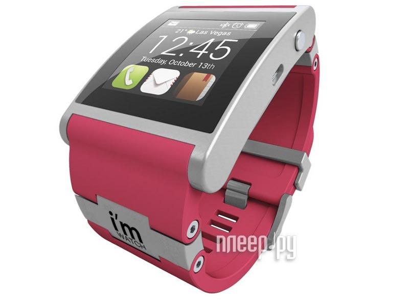 Умные часы I-m Watch Color Pink  Pleer.ru  9485.000