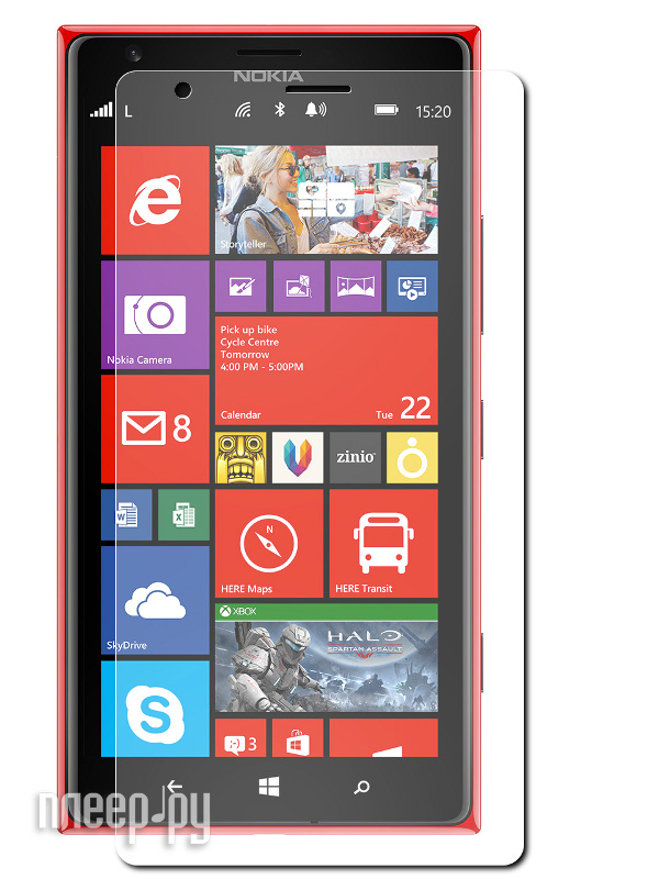 Аксессуар Защитная пленка Nokia 1520 Lumia Ainy / Media Gadget Premium матовая  Pleer.ru  551.000