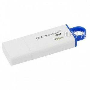 Купить USB Flash Drive 16GB - Kingston DataTraveler G4 3.0 DTIG4/16GB