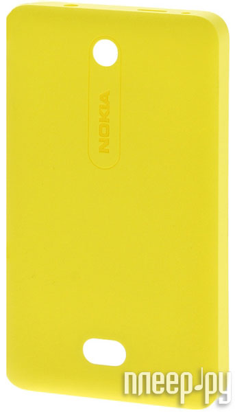 Аксессуар Сменная панель Nokia 501 Asha CC-3070 Yellow  Pleer.ru  167.000