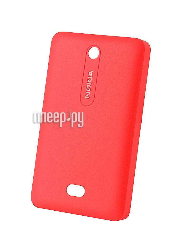 Аксессуар Сменная панель Nokia 501 Asha CC-3070 Red  Pleer.ru  150.000