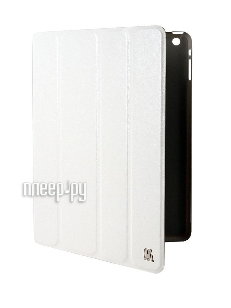 Аксессуар Чехол APPLE iPad Air Just Case White  Pleer.ru  490.000