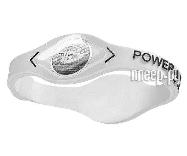 Браслет POWER BALANCE M White Hologram White/Black  Pleer.ru  1170.000