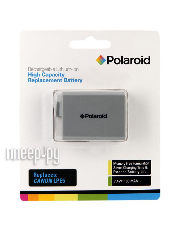 Аккумулятор Polaroid LP-E5 PLBTCNLPE5  Pleer.ru  888.000