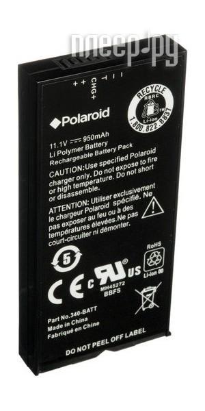 Аксессуар Аккумулятор Polaroid Battery Pack for GL10 / Z340 POLBTZ3X4  Pleer.ru  1311.000