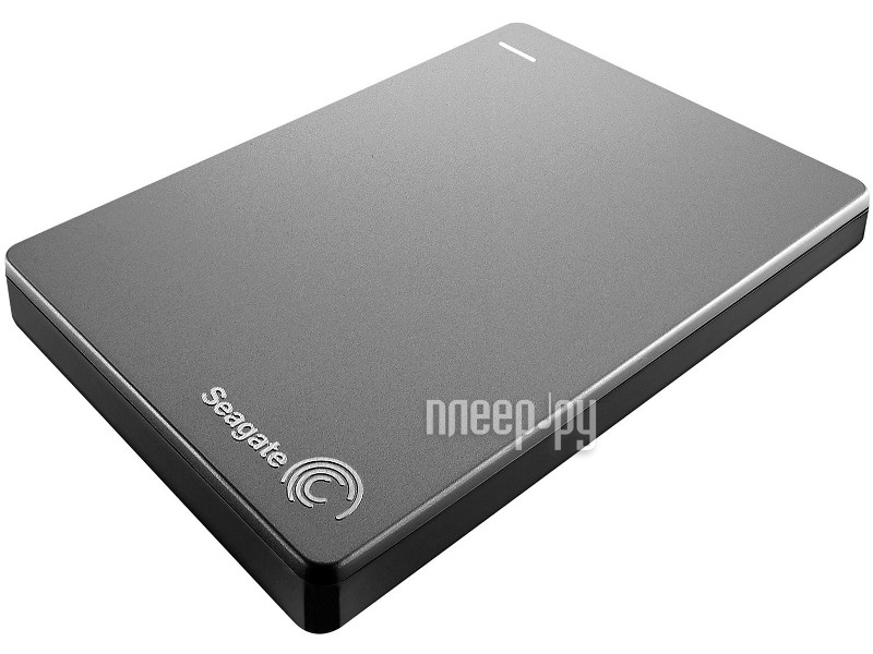 Жесткий диск Seagate Backup Plus Slim 1Tb Silver USB 3.0 STDR1000201