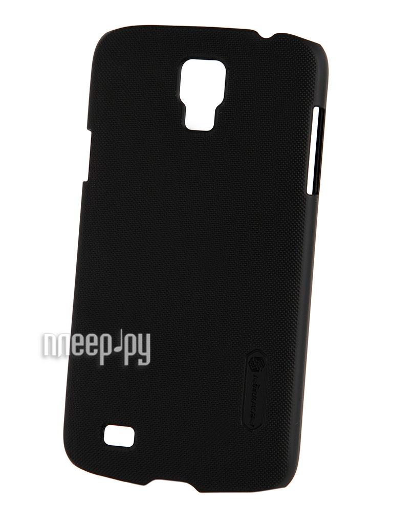 Аксессуар Чехол-накладка Nillkin for Samsung GT-i9295 Galaxy S4 Active Super Frosted Shield Black  Pleer.ru  1101.000