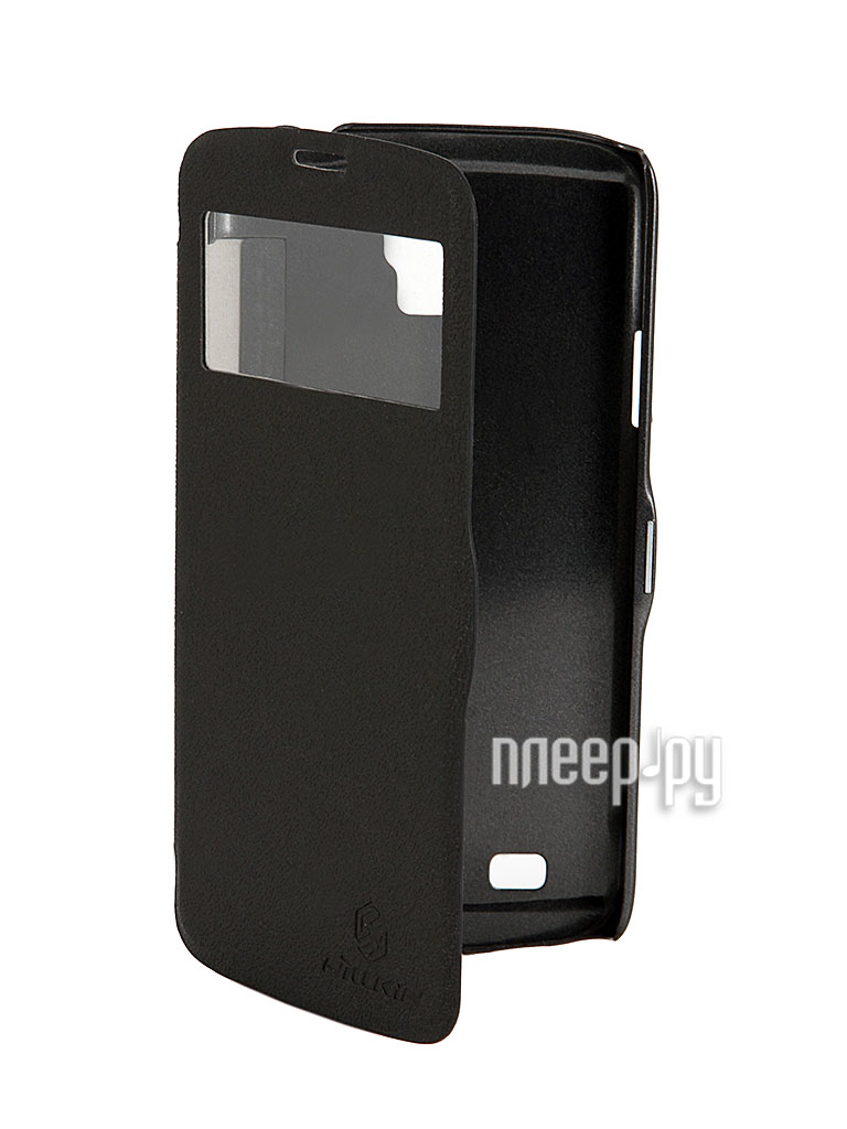 Аксессуар Чехол Nillkin for Samsung GT-i9295 Galaxy S4 Active Fresh Series Leather Case Black T-N-SI9295-001  Pleer.ru  1199.000