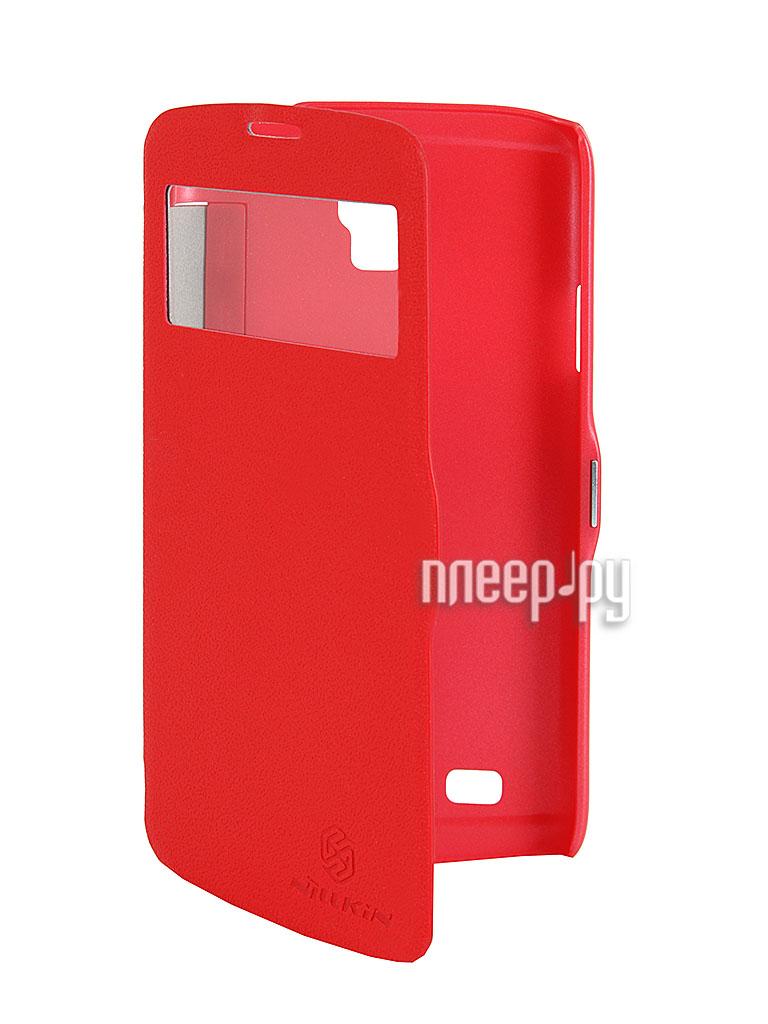 Аксессуар Чехол Nillkin for Samsung GT-i9295 Galaxy S4 Active Fresh Series Leather Case Red  Pleer.ru  398.000