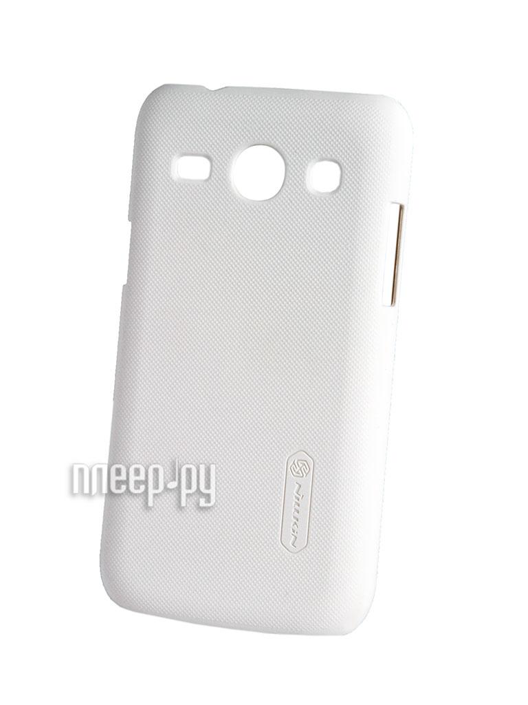 Аксессуар Чехол-накладка Nillkin for Samsung SM-G3502U Galaxy Trend 3 Super Frosted Shield White  Pleer.ru  289.000