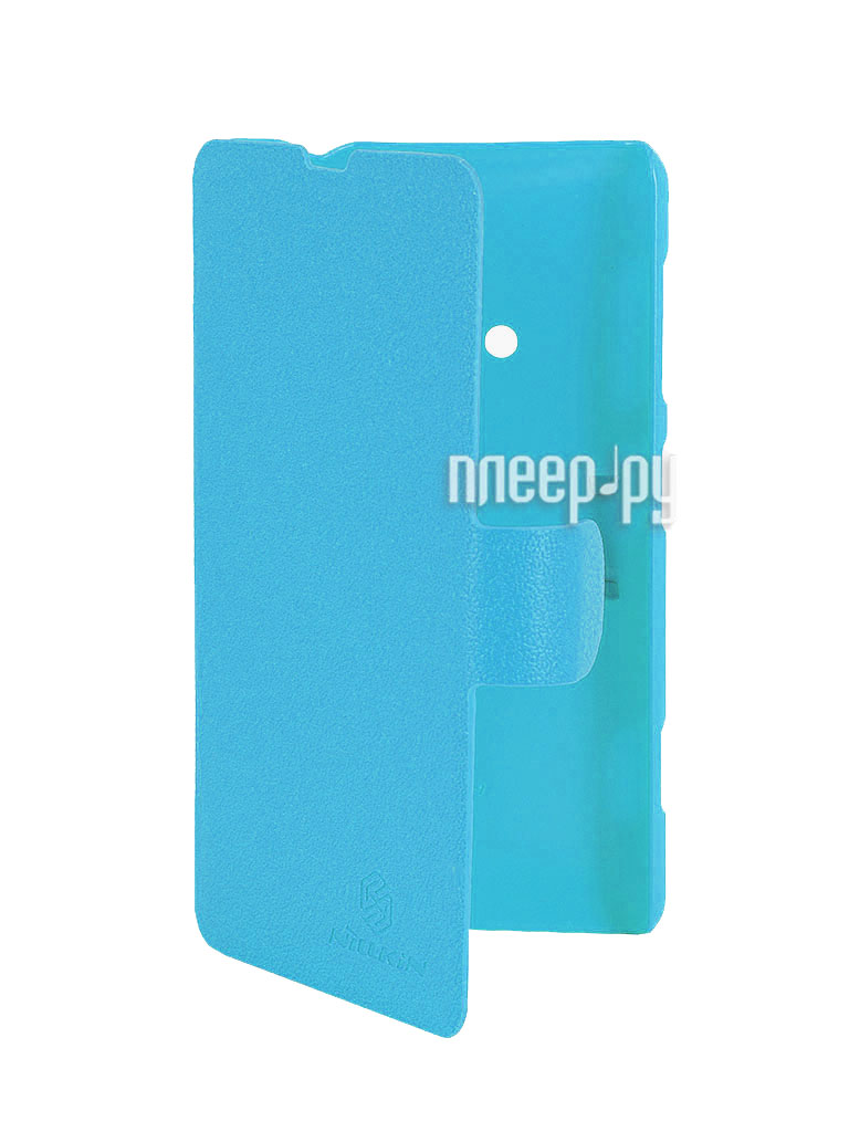 Аксессуар Чехол Nokia Lumia 625 Nillkin Fresh Series Leather Case Blue  Pleer.ru  1199.000