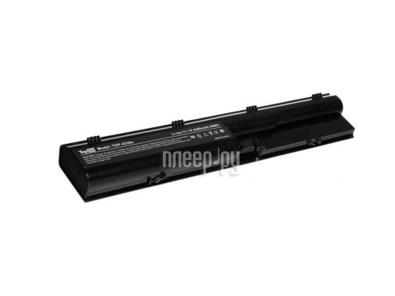 Аккумулятор TopON TOP-4330s 11.1V 4400mAh for HP ProBook 4330s/4331s/4430s/4431s/4435s/4436s/4440s/4441s/4446s/4530s/4535s/4540s/4545s Series  Pleer.ru  1890.000