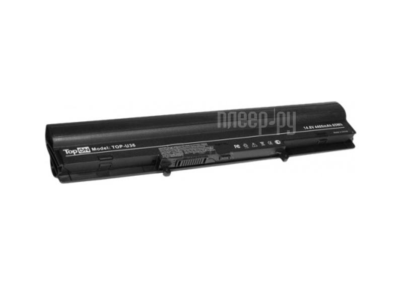 Аккумулятор TopON TOP-U36 14.8V 4400mAh for ASUS U32/U36/U44/U82 Series  Pleer.ru  1739.000