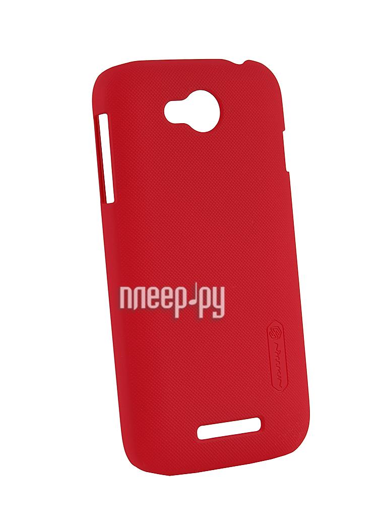 Аксессуар Чехол-накладка Lenovo A706 Nillkin Super Frosted Shield Red  Pleer.ru  300.000