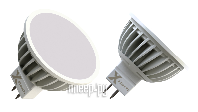 Лампочка X-flash XF-MR16-A-GU5.3-3W-4K-220V 44559  Pleer.ru  187.000