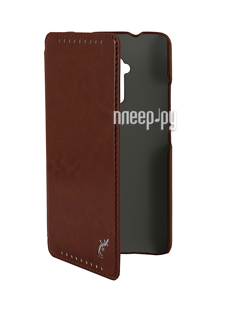 Аксессуар Чехол HTC 8088 One Max G-Case Slim Premium Brown  Pleer.ru  450.000