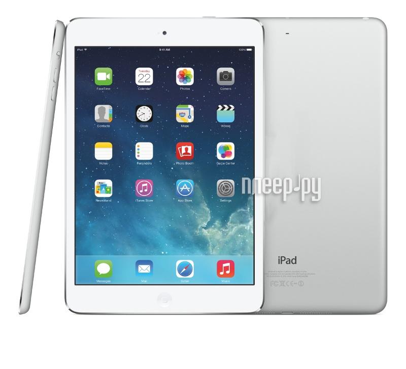 APPLE ������� iPad mini 2 16Gb Wi-Fi + Cellular Silver ME814RU/A A7 1.3 GHz/1024Mb/16Gb/Wi-Fi/Bluet�