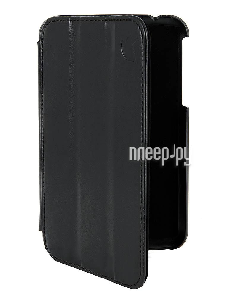 Аксессуар Чехол Galaxy Tab 3 7.0 T2100/T2110 Lemon Tree SlimFit Black LT-21SA1201  Pleer.ru  986.000