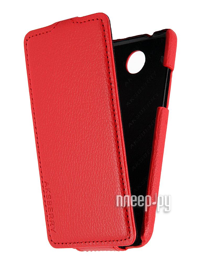 Аксессуар Чехол HTC Desire 300 Aksberry Red  Pleer.ru  348.000