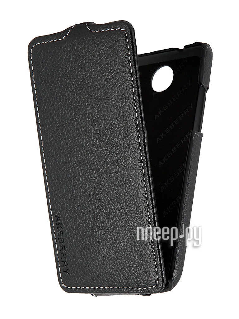 Аксессуар Чехол HTC Desire 300 Aksberry Black  Pleer.ru  348.000