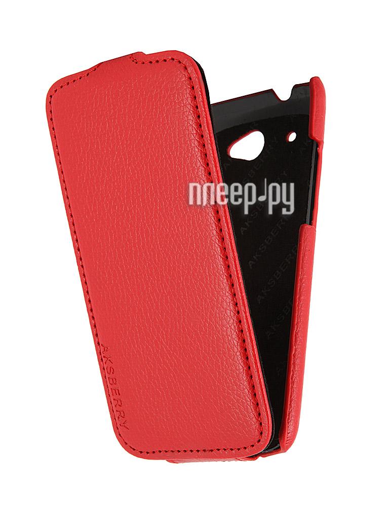 Аксессуар Чехол HTC Desire 601 Aksberry Red  Pleer.ru  1149.000