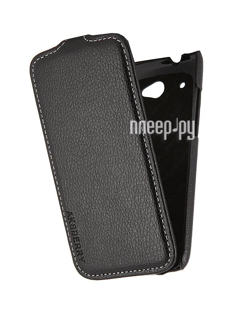 Аксессуар Чехол HTC Desire 601 Aksberry Black  Pleer.ru  348.000