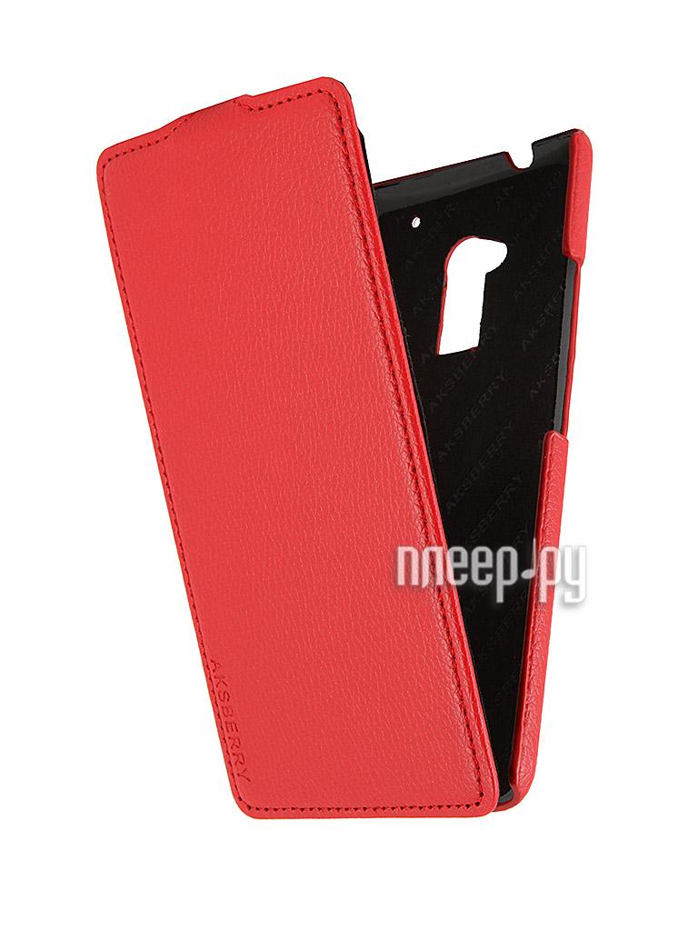 Аксессуар Чехол HTC One Max Aksberry Red  Pleer.ru  340.000